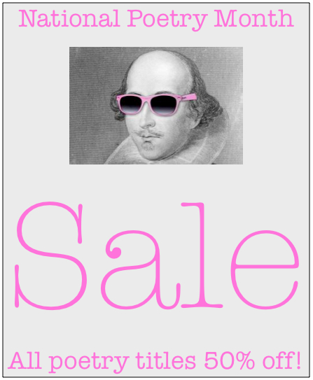 National_Poetry_Month_Sale