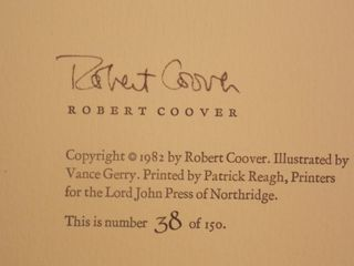 Coover - The Old  Man - Signature