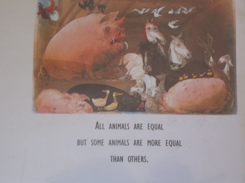 Animal Farm - back cover